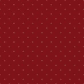 Red Velvet Tint White Dots
