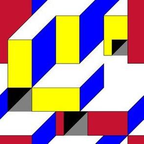 Color Block Illusion B