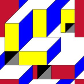 Color Block Illusion A