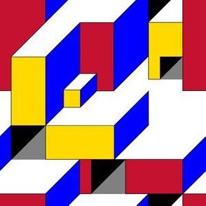 Color Block Illusion De