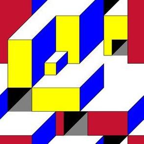 Color Block Illusion C