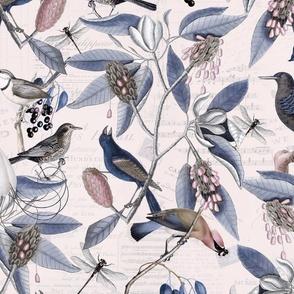 Nostalgic Bird Pattern_7