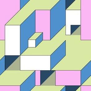 Color Block Illusion Db
