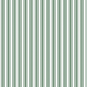 Trendy Large Green Boot Pastel Green French Mattress Ticking Double Stripes