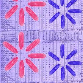 Memory Flowers Pink & Purple