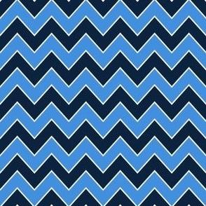 titans chevron - navy and blue chevron, sports chevron, sports team, tennessee fabric, navy and blue fabric