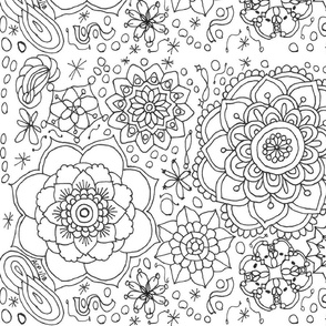 Color-Me Mandala -ed