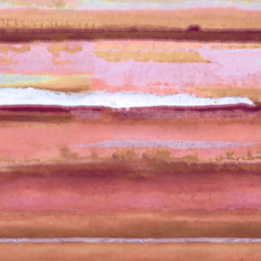 Painterly-Stripes-Coral