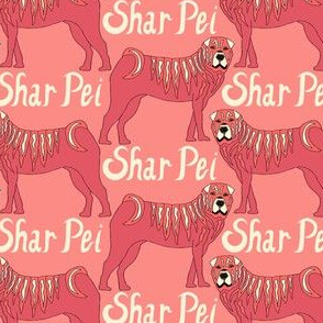 Shar Pei Pastels