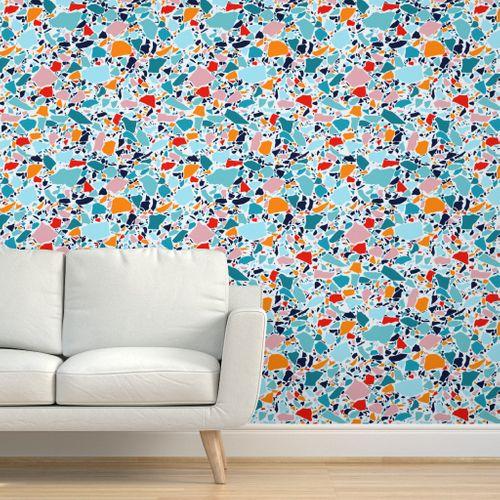Papier peint photo Papier peint papier standard moderne Coloré abstraction art decor