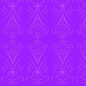 Bright lavender and pink