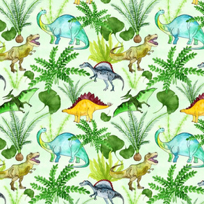 Dinos and Plants