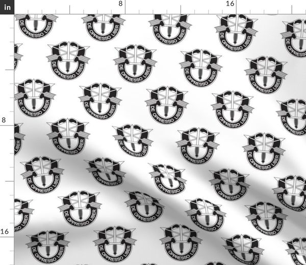 Us Army Special Forces Distinctive Unit Spoonflower