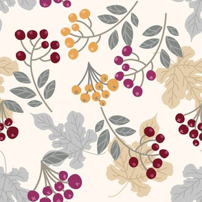 Sophisticated Leaves and Berries