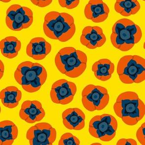 Persimmons  - Yellow