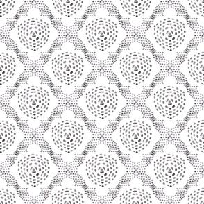 Batik Trellis - gray