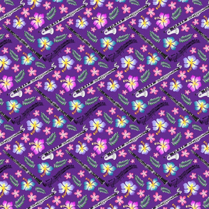 Hawaiian Clarinet Purple