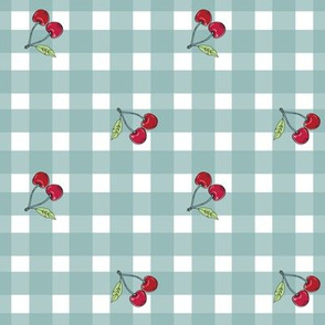CHERRY GINGHAM BLESSED