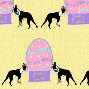 Happy Easter Boston Terriers