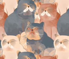 Lush Cats by Mount Vic and Me