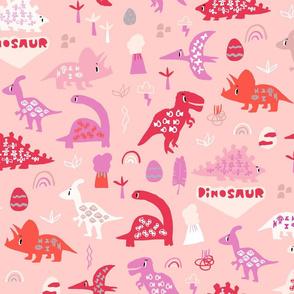 Dinosaur pink