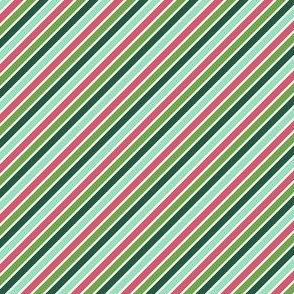 Merry Diagonal Stripes (Multi)