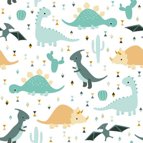 friendly dinosaurs