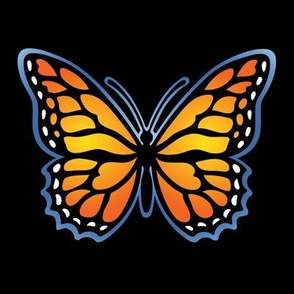 Monarch butterfly for dark backgrounds 2019-07-22-f 150ppi-03