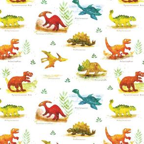 Dinosaurs and Prehistoric Lizards