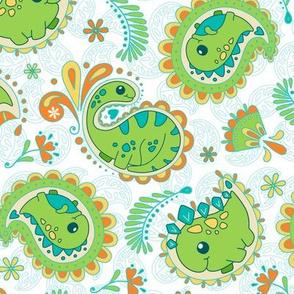 Dinosaurs Paisley