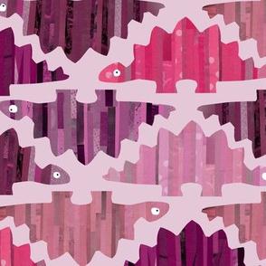 Striped Stegosaurus Pink