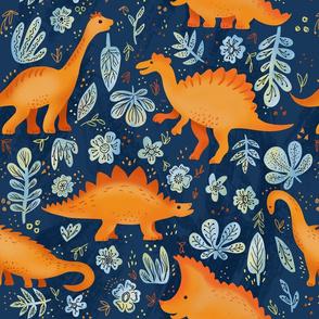 funny sunny dinosaurs