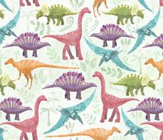 Dinosaur jungle