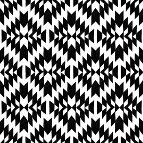 Black and White Tribal Geo