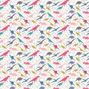 Dinos, tracks & petroglyphs - Large Scale