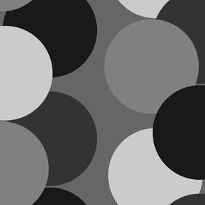 Bubble dot - grey