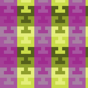 Grape and Lime Key Tile