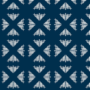 Gracy abstract Lattice-Blue