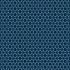 Gracy Flower Dots-Blue
