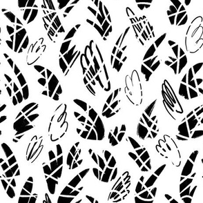 Abstract Inky Scribbles