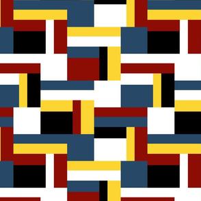 color block double step B