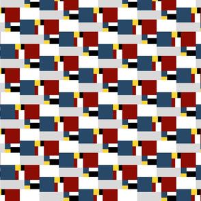color block golden ratio double step