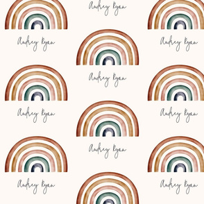 Rainbows for Audrey Ryan