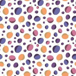 plums polks dots by rysunki_malunki