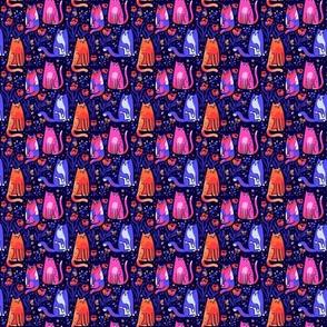 cats + butterflies