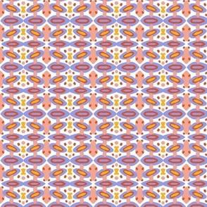 cats & butterflies - charcoal & white - smaller