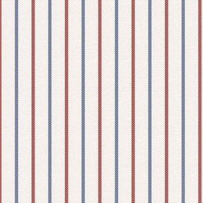Baseball Ball Stitch Ticking Stripe on Soft Gray Small Scale- Sandlot Sports Collection