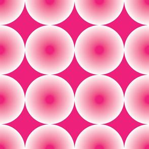 Radial Hot Pink