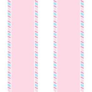 Candy Stripe Wall Large