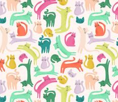 Rainbow Cat Party